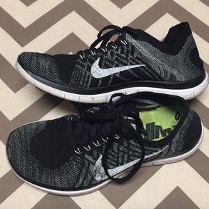 Nike Free 4.0 flyknit size 8